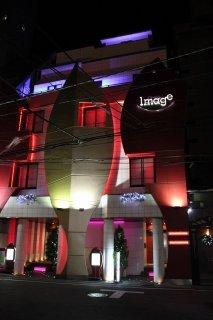 イマージュ(新宿区/ラブホテル)の写真『夜の外観』by スラリン