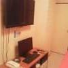 レンタルルーム ドアーズ(町田市/ラブホテル)の写真『15号室、テレビ』by エロタカ