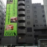 HOTEL O・M・Y (オーエムワイ)(さいたま市大宮区/ラブホテル)の写真『昼の外観  裏路地側( 西側)』by ルーリー9nine