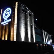 HOTEL GRASSINO URBAN RESORT(立川市/ラブホテル)の写真『夜の外観』by すももももんがー