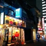 レンタルルーム アプレ(港区/ラブホテル)の写真『夜の入居ビル外観1』by ましりと