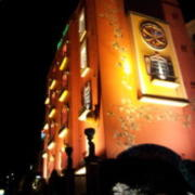 AILEAN DONAN(アイリーンドナン)町田店(相模原市/ラブホテル)の写真『外観(夜・道路から)②』by 少佐