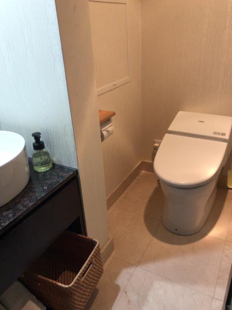 ホテル ヴィクトリアコート(江戸川区/ラブホテル)の写真『403号室トイレ』by 会長 コジマ耕作