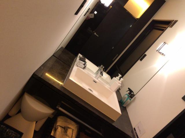 HOTEL DUO(デュオ)(墨田区/ラブホテル)の写真『401号室洗面台』by 会長 コジマ耕作