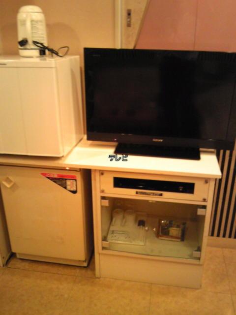 PRINCESS2世(台東区/ラブホテル)の写真『505号室  テレビ 冷蔵庫付近』by 激闘乱舞