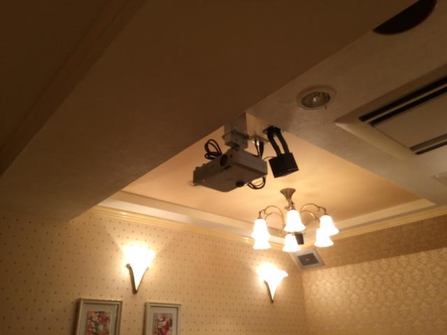 目黒エンペラー(目黒区/ラブホテル)の写真『405号室プロジェクター』by 全てを水に流す男