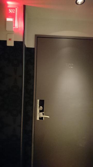 HOTEL THE SCENE(ザ・シーン)(横浜市港北区/ラブホテル)の写真『502号室前』by なめろう