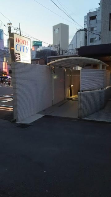 ホテルシティ(立川市/ラブホテル)の写真『入り口です』by ゆうじい
