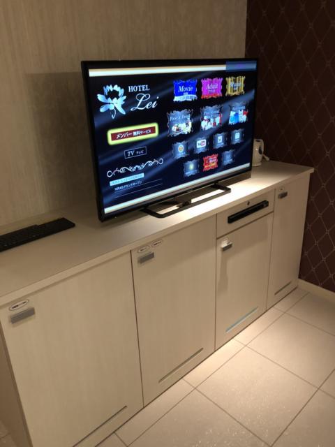 HOTEL Lei(大阪市/ラブホテル)の写真『435 TVモニター』by 輝rin