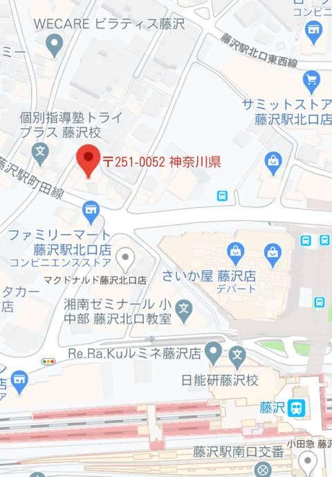マップ アイドルポケット(ピンサロ/藤沢)