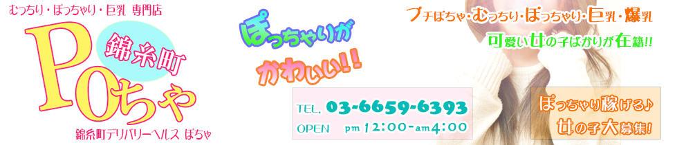 錦糸町POちゃ(錦糸町発・近郊/むっちり・ぽっちゃり・巨乳専門デリヘル)