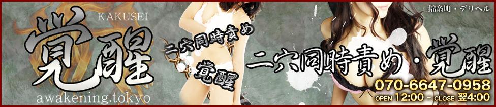 覚醒・2穴同時責め(錦糸町発・近郊/デリヘル)