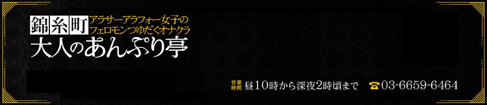 大人のあんぷり亭 錦糸町(錦糸町発・周辺/手コキ・オナクラ)