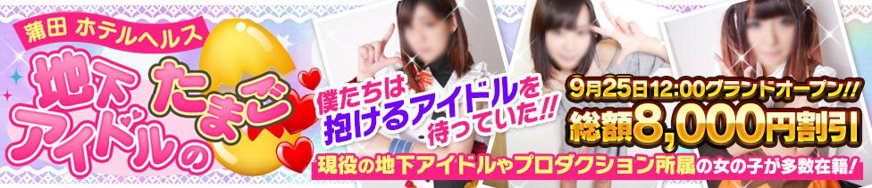 地下アイドルのたまご(蒲田周辺/ホテヘル)