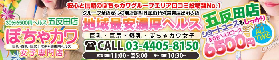 ぽちゃカワ女子専門店 五反田店(五反田発・周辺/ぽっちゃりデリヘル)