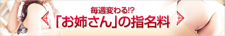 お姉さんCLUBの指名料金 お姉さんCLUB(八王子/デリヘル)