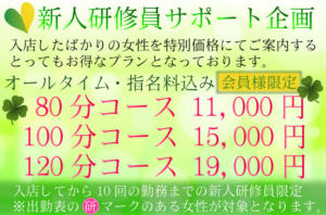 新人研修員サポート企画 Mrs治療院(池袋/デリヘル)