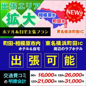 近郊エリアホテル&自宅出張プラン 熟女会(町田/デリヘル)