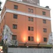 ホテル エルミタージュ中央店(全国/ラブホテル)の写真『朝の外観』by すももももんがー