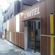L'HOTEL 渋谷(全国/ラブホテル)の写真『昼間の入口付近』by 郷ひろし(運営スタッフ)