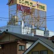 シンデレラタイム(全国/ラブホテル)の写真『屋上の看板』by ホテルレポったー