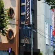 ホテル ピュア・アジアン(全国/ラブホテル)の写真『昼の外観(南西から)』by ホテルレポったー