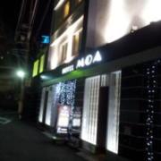 ホテルMOA(全国/ラブホテル)の写真『昼の外観 正面入り口』by norii