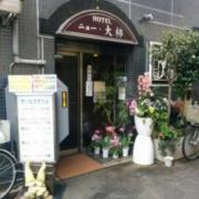 HOTEL ニュー大柿(全国/ラブホテル)の写真『西側の出入口』by