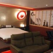 ホテルAYA(彩)(全国/ラブホテル)の写真『夜の外観、正面』by 来栖