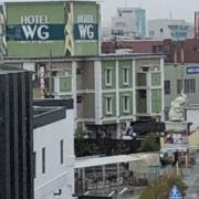 ホテル ウォーターゲート岡山(全国/ラブホテル)の写真『昼の外観』by くんにお