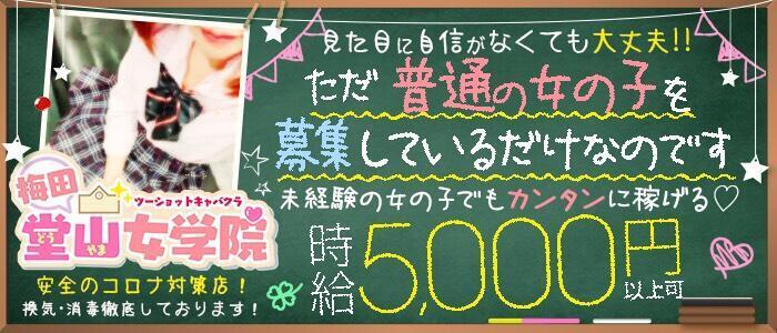 梅田堂山女学院(高収入バイト)(梅田/ツーショットキャバクラ)