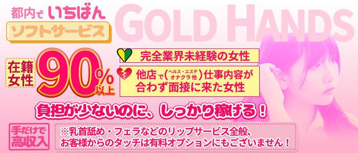 特徴 - ゴールドハンズ(高収入バイト)(新橋/手コキ)