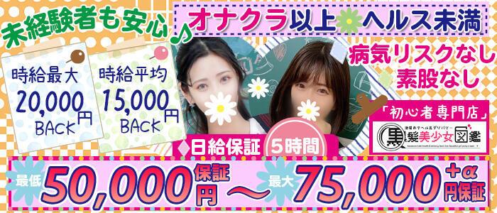 黒髪美少女図鑑(高収入バイト)(池袋発・近郊/ホテヘル&デリヘル)