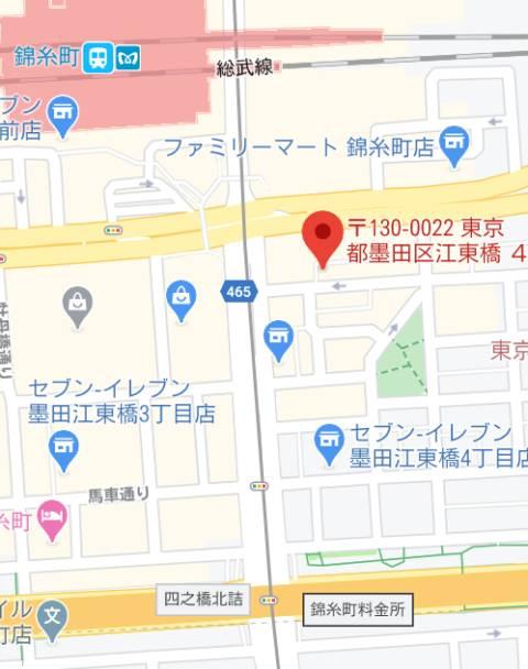アクセス BLUE GIRL(ピンサロ/錦糸町)