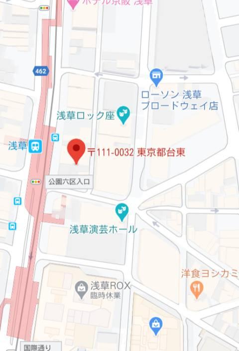 マップ|ソープランドMAX‐マックス- 浅草店(ソープランド/浅草)