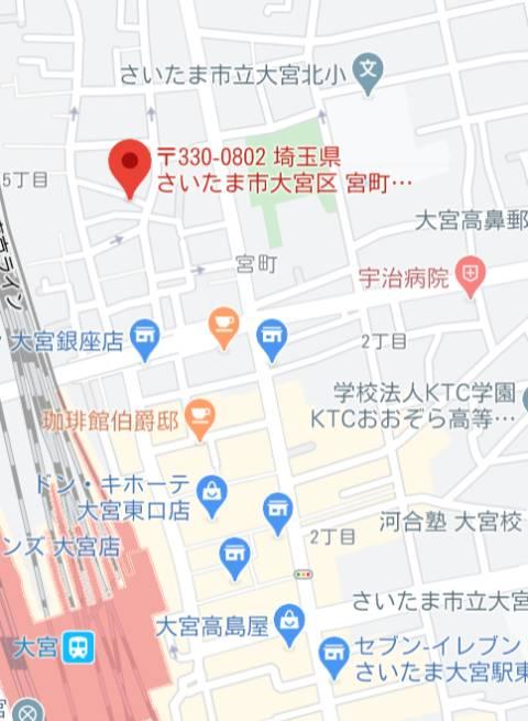 マップ ゴールドクイーン(ソープランド/大宮)