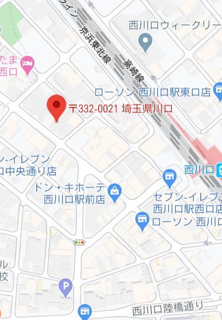 マップ|Ageha(アゲハ)(ソープランド/西川口)