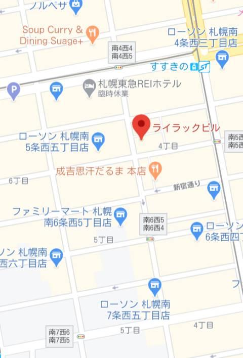 マップ 病院(ソープランド/すすきの)