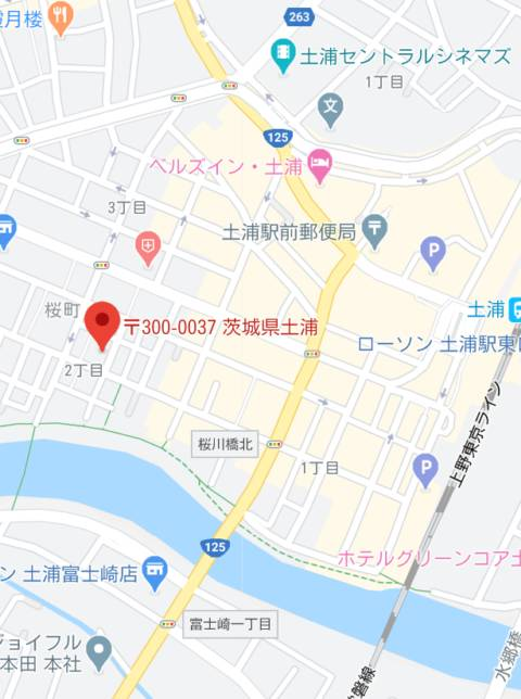 マップ ミラー(ソープランド/桜町(土浦市))