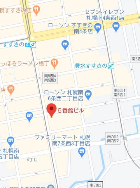 マップ ソープランド蜜 人妻・美熟女専門店(ソープランド/すすきの)