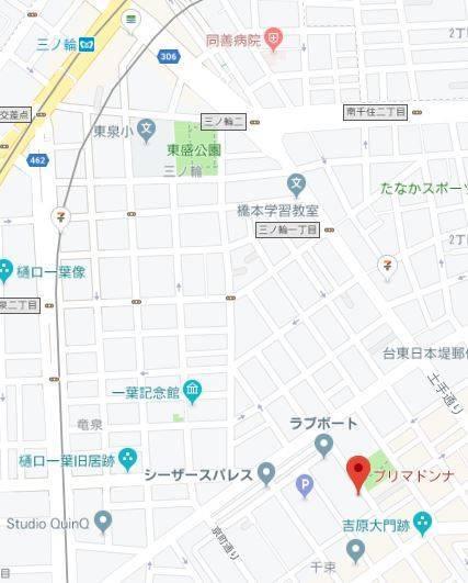 マップ プリマドンナ(ソープランド/吉原)