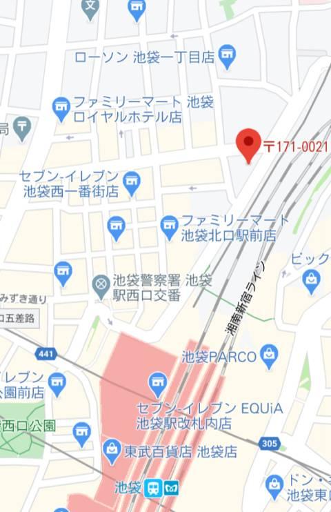 マップ|池袋夢幻(ソープランド/池袋)