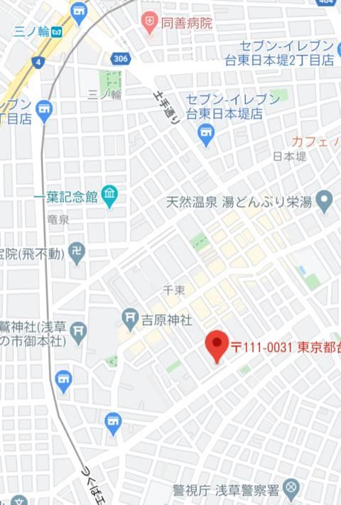マップ|エヂンバラ(ソープランド/吉原)