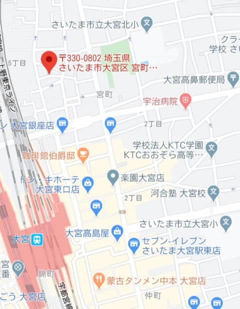 マップ|大宮ウィング(ソープランド/大宮)
