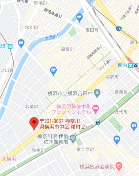マップ もしも優しいお姉さんが本気になったら...横浜店(ファッションヘルス/横浜曙町)