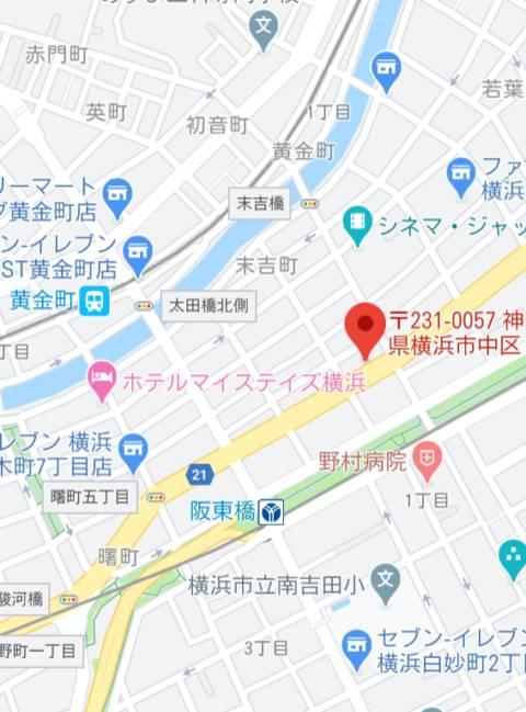 マップ クラブFG(FG系列)(ファッションヘルス/横浜曙町)