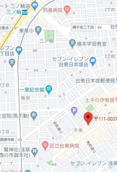 マップ|大奥(ソープランド/吉原)