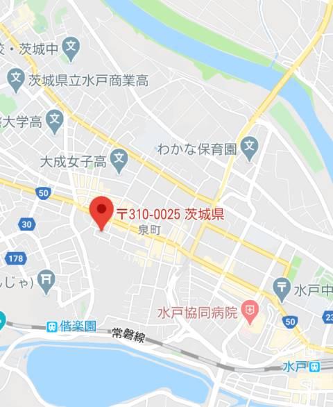 マップ メイド IN 水戸(店舗型エステ/水戸市天王町)