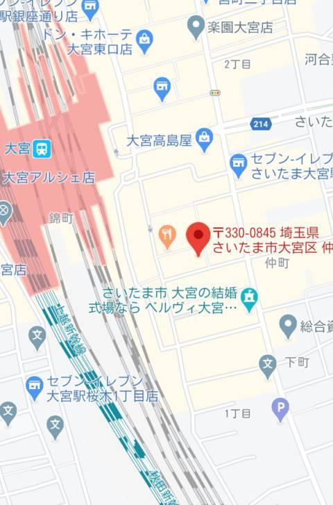 マップ|スナイパー(ピンサロ/大宮)