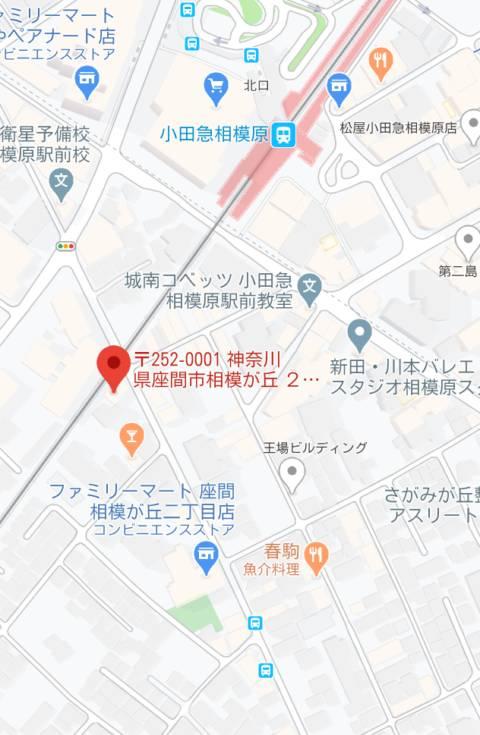 マップ アイドルマスカット(ピンサロ/小田急相模原)